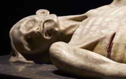 escultura Crist Jacent - Fita